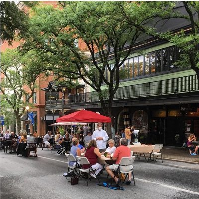 Kennett Square Reopens Part of State Street as an Open-Air Marketplace